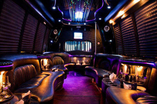 15 person party bus rental Austin