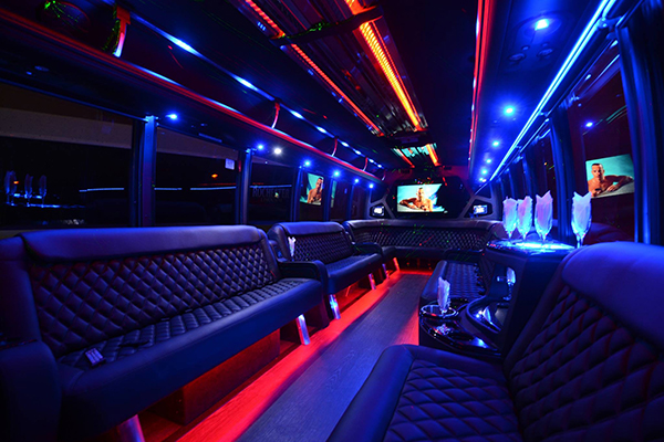 40 passenger party bus rental Austin
