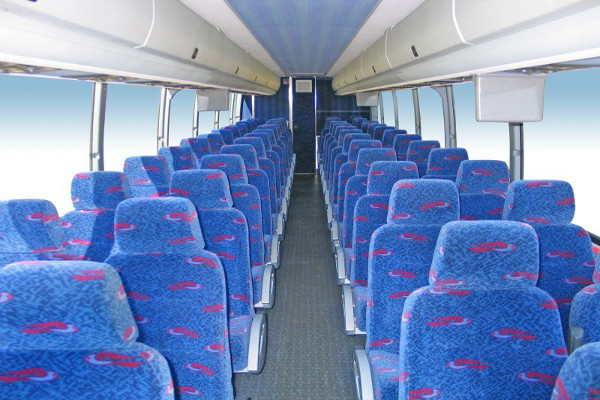 50 person charter bus rental Austin