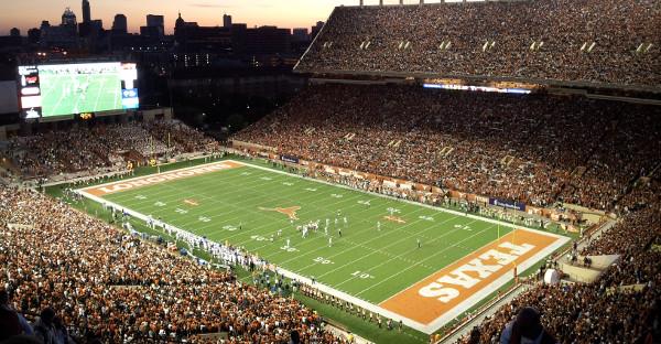Darrel K Royal Texas Memorial Stadium